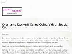 Cut-flower producer specializing in Cymbidium orchids.   Berkel en Rodenrijs, Netherlands.